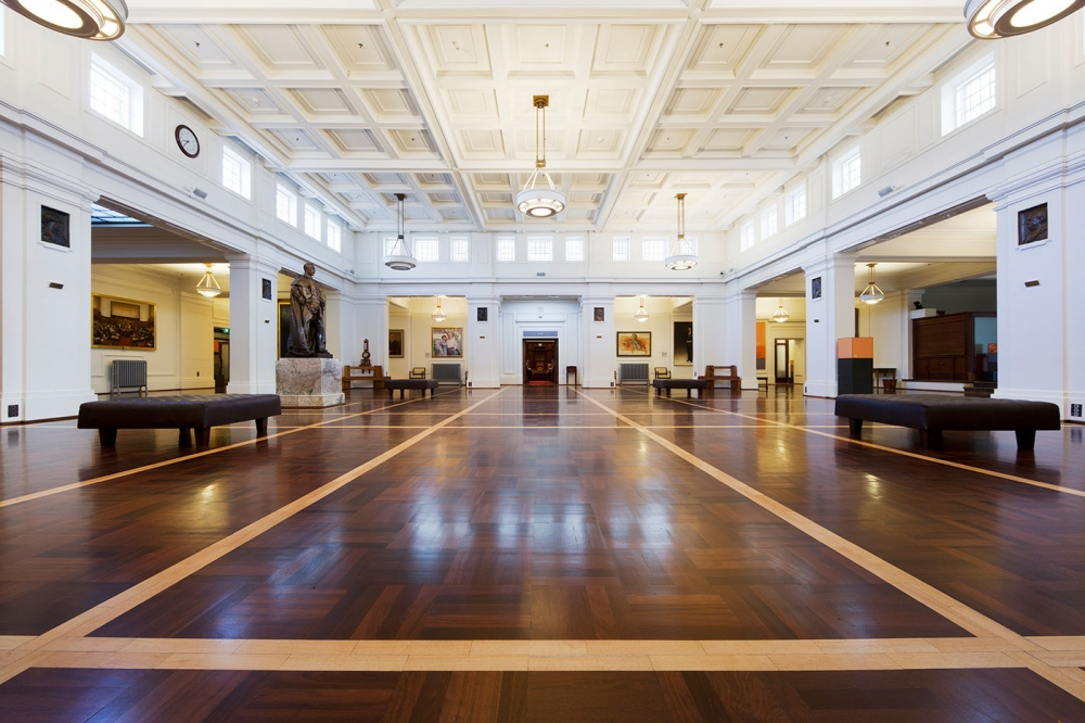 The King's Hall, Old Parliament House, Canberra.